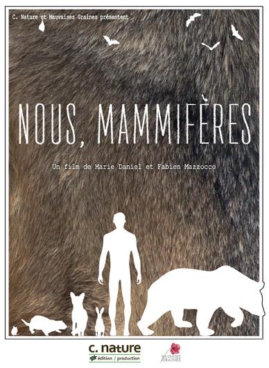 Nous, mammifères de Marie Daniel et Fabien Mazzocco