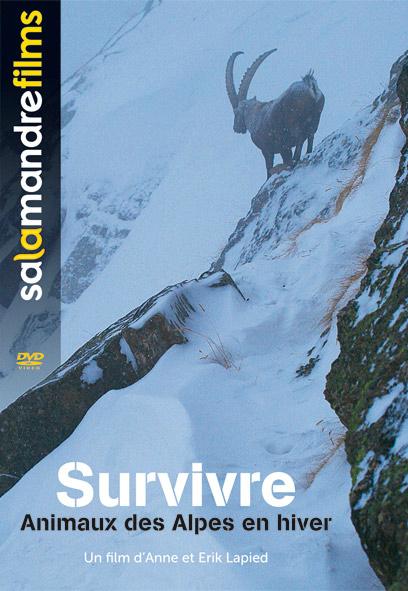 Survivre, animaux des Alpes d'Anne et Erik Lapied