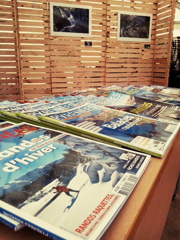 Stand Pyrénées Magazine - photo : Carole Lafontan / FINM2015 / ONCFS