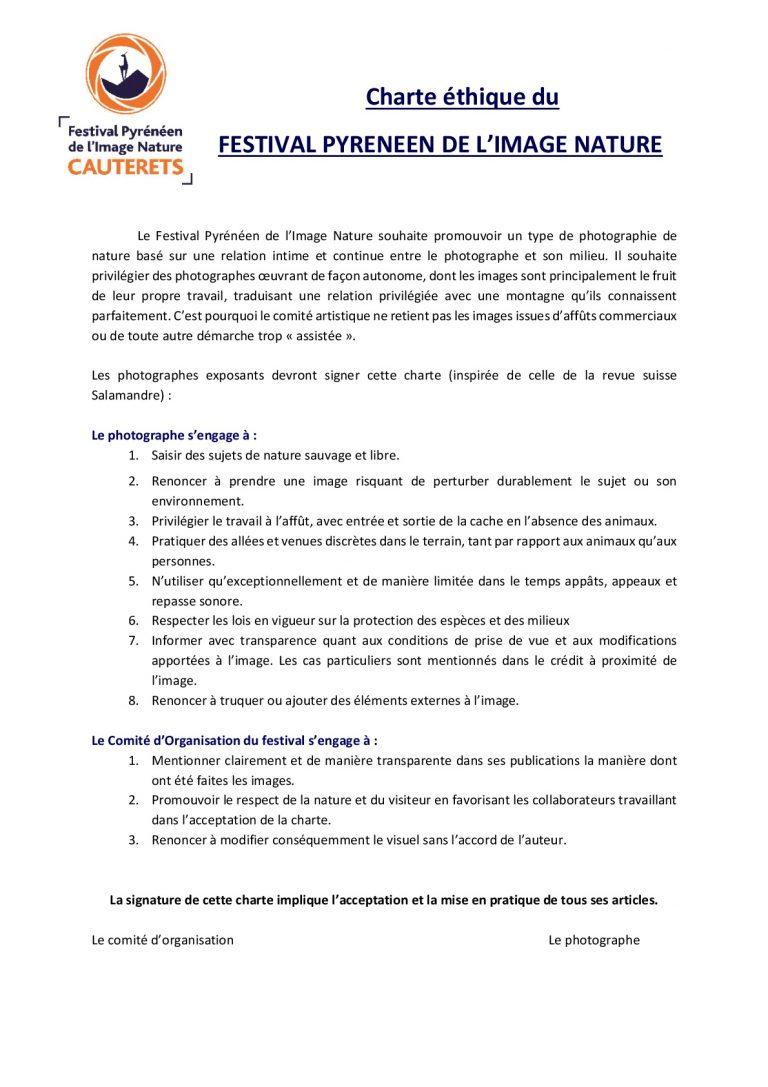 Charte Ethique des Photographes FPIN 2017