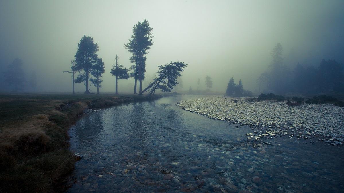 Plateau du Cayan dans la brume © Pierre Meyer