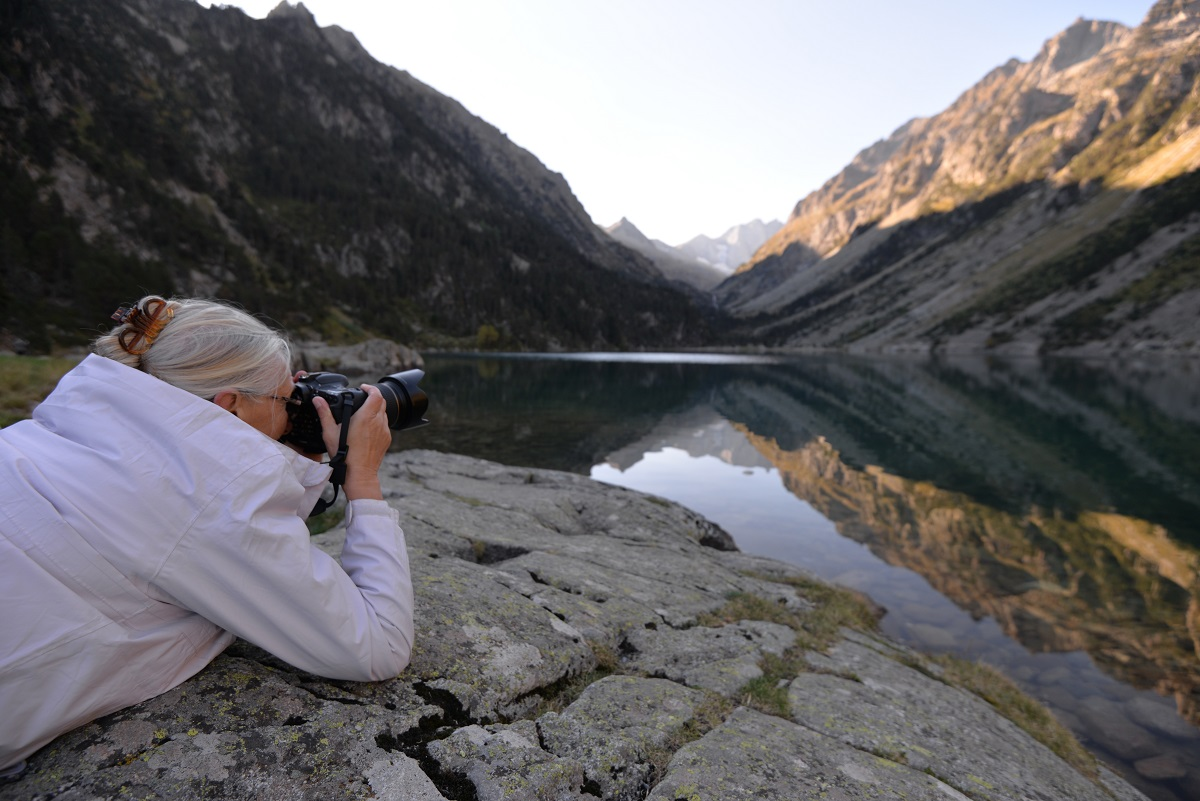 Stage photo « Le lac doré » © Hadrien Brasseur