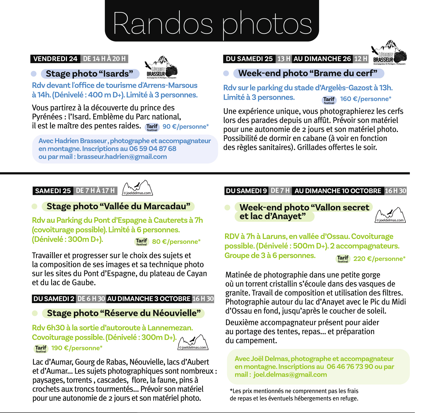 FPIN 2021 - Randos & Stages Photos